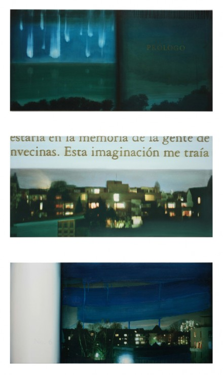 Prólogo, Imagination, Nr. 6, 2007, Comp. print, Oil on Canvas, 65 x 130 cm each